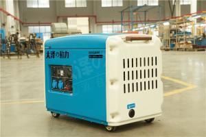 小型7千瓦柴油发电机抢修应急