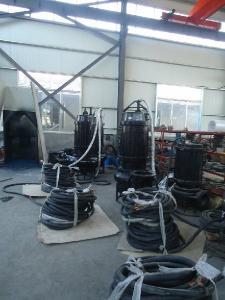 大流量潜水抽沙泵-耐磨排沙泵