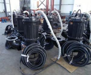 潛水立式耐磨雜質泵-稀土礦粉泵