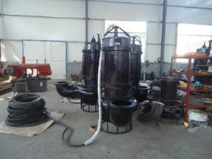 潛水大型渣漿泵-沉淀池抽渣泵