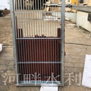 铸铁镶铜方闸门 产品图片