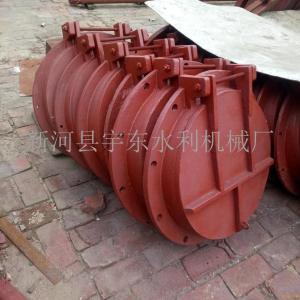 铸铁拍门|1.0MPa铸铁拍门|10公斤压力DN300法兰式铸铁拍门价格