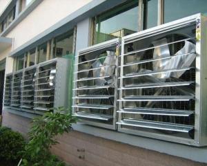 钢结构厂房在夏天 通风降温