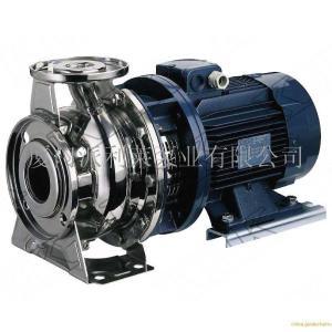 進口臥式不銹鋼管道離心泵(歐美知名品牌)美國KHK