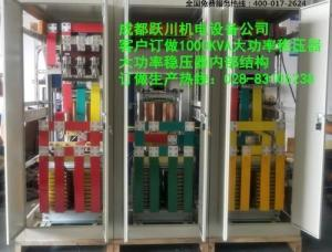 SBW-1000KVA大功率补偿式稳压器成都生产厂家