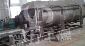 污泥碳化处理设备 污泥浆叶碳化机设备