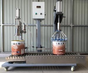 全自动涂料灌装机 自动灌装机