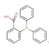 CAS号:17261-28-8  2-(二苯基膦基)苯甲酸  现货产品,高校 科研机构货到付款,全国包邮