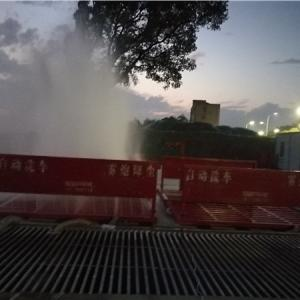 安徽工地車輛自動沖洗槽采購報價