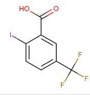 2-碘-5-三氟甲基苯甲酸  CAS号:702641-04-1