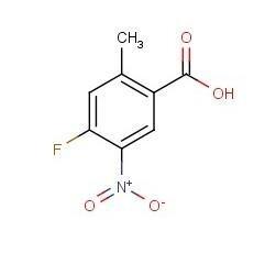 4-氟-2-甲基-5-硝基苯甲酸  CAS号:64695-92-7   现货