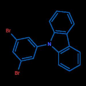 9-(3,5-二溴苯基)-9H-咔唑,CAS号:750573-26-3厂家现货直销产品