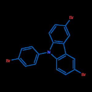 3,6-二溴-9-(4-溴苯基)-9H-咔唑,CAS号:73087-83-9厂家现货直销产品