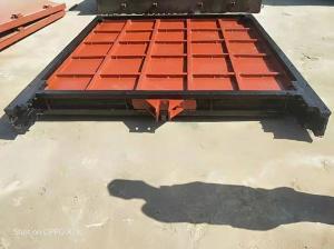 山西设计平面铸铁闸门 泵站铸铁闸门应用