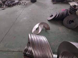 地坑螺旋葉片 大型地坑螺旋葉片生產廠家