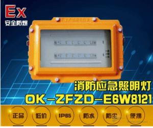 OK-ZFZD-E6W8121长寿命防爆消防应急灯具