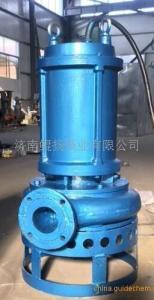 攪拌潛水渣漿泵,鋼廠沉淀池潛水渣漿泵