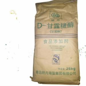 甘露糖醇 南京 供应批发 食品级甜味剂 明月D-甘露糖醇