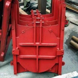 浙江定制弧形铸铁闸门 1.2×1.2渠道铸铁闸门价格