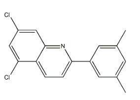 5,7-二氯-2-(3,5-二甲基苯基)-喹啉 cas号:1436690-90-2 现货产品,优势供应 科研专用