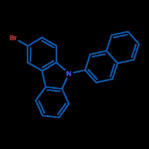 N-(2-萘基)-3-溴咔唑,CAS号:934545-80-9厂家现货直销产品