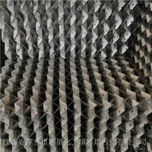 内蒙古脱硫塔350型金属孔板波纹填料250Y型号316材质不锈钢波纹板填料 产品图片