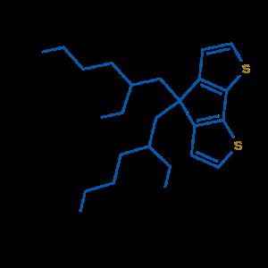 4,4-二(2-乙 基 己 基)-二 噻 吩 并 环 戊 二 烯)