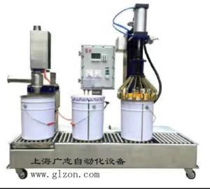 涂料自动灌装机  树脂自动灌装机