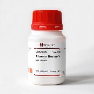 生化实验专用  优质牛血清白蛋白Ⅴ  A8020