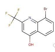8-溴-4-羟基-2-三氟甲基喹啉  CAS号:59108-43-9