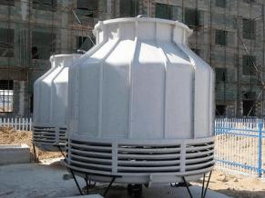 圆型冷却塔生产