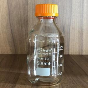 蜀牛定制Seebio黄盖高硼硅丝口试剂瓶500mL 产品图片