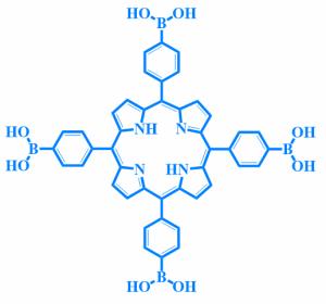 5,10,15,2四(4-硼酸基苯)-21H,23H-卟啉