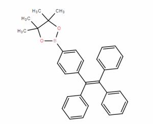 实验室现货供应 1-(4-苯硼酸频哪醇酯)-1,2,2-三苯乙烯  CAS:1260865-91-5